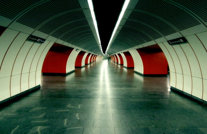 photoblog image Vienna subway
